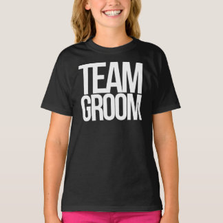Team Groom bachelor party Tees