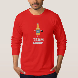 Team Groom Beerbottle Zu77s T-Shirt
