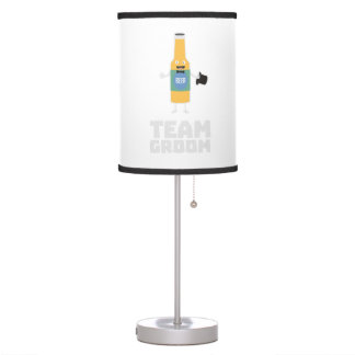 Team Groom Beerbottle Zu77s Table Lamp