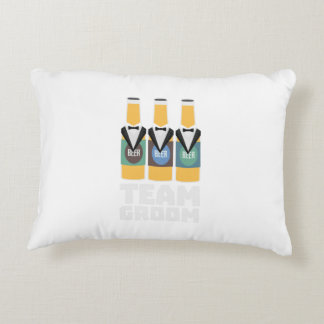 Team Groom Beerbottles Zqf18 Decorative Pillow