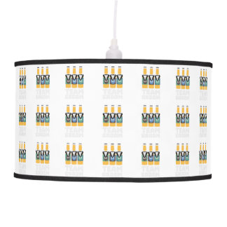 Team Groom Beerbottles Zqf18 Pendant Lamp
