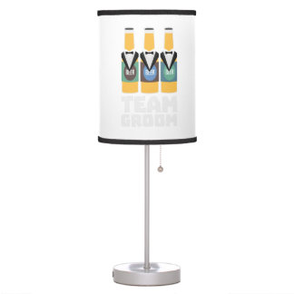 Team Groom Beerbottles Zqf18 Table Lamp