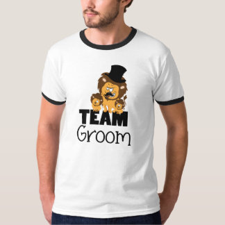 Team groom cartoon T-Shirt