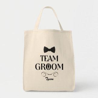 Team Groom - Custom Groomsmen Gift Bags