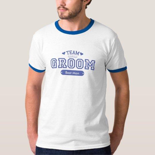 Team Groom Customizable T-Shirt