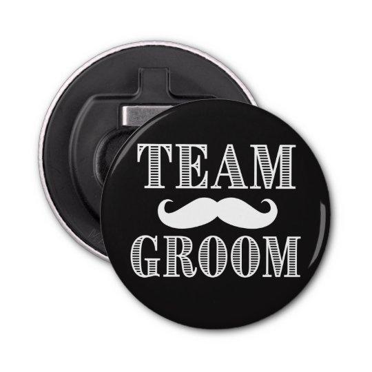 Team Groom Groomsman beer opener