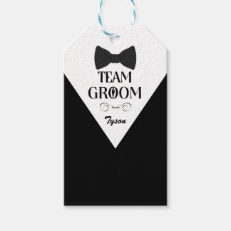 Team Groom - Groomsmen Gift Tag