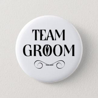 Team Groom - Groomsmen Pin