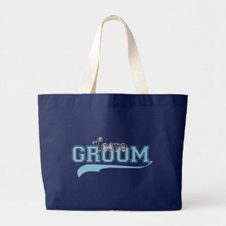 Team Groom Large Tote Bag