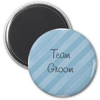 Team Groom 2 Inch Round Magnet
