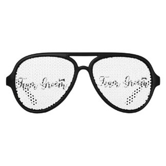 Team Groom-Modern Wedding,-Bachelor-party- Aviator Sunglasses
