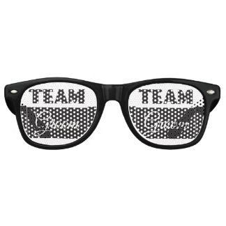 Team groom party sunglasses
