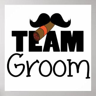 Team Groom Print