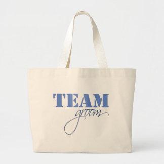Team Groom theme Tote Bags