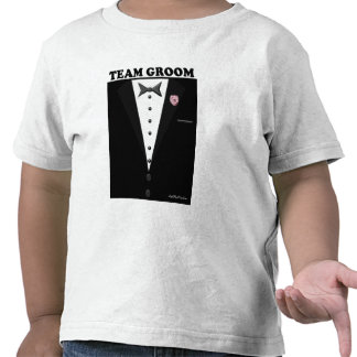 Team Groom (tuxedo) Tshirts