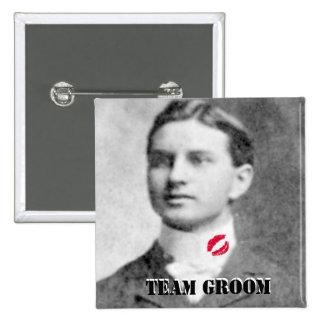 Team Groom Wedding Game Favors Pins