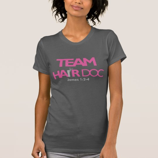 Team Hair Doc (Racerback) T-Shirt