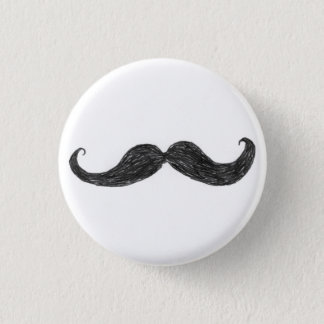 Team Hans Moostache Button