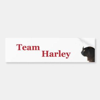 Team Harley Bumper Sticker
