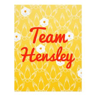 Team Hensley Flyers