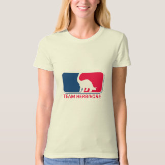Team Herbivore Vegetarian Vegan T-Shirt