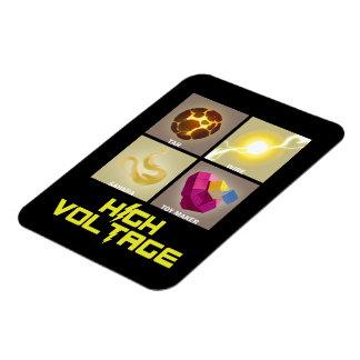 Team High Voltage Powers Flexi-Magnet Rectangular Photo Magnet