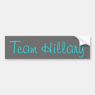 Team Hillary Bumper Sticker