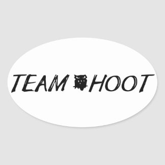 Team hoot Sticker