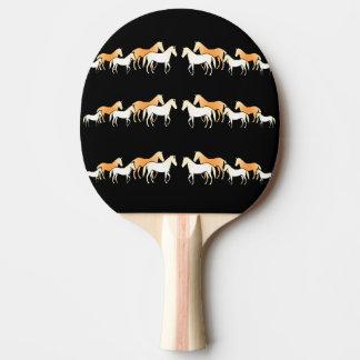 Team Horses Ping Pong Paddle