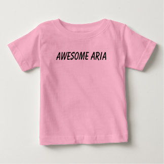 Team hype (Awesome Aria t-shirt baby/todler)
