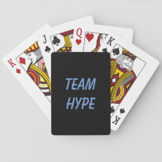 Team Hype playing cards