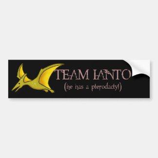 Team Ianto- Pterodactyl Sticker