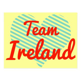 Team Ireland Post Card