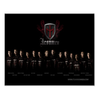 Team Ironmen Poster