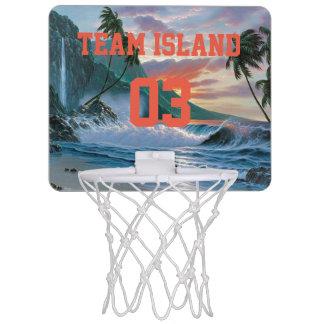 Team Island Mini Basketball Hoop