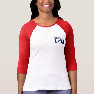 Team ISU on Mars 3/4 Raglan T-shirt