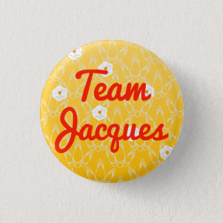 Team Jacques 1 Inch Round Button