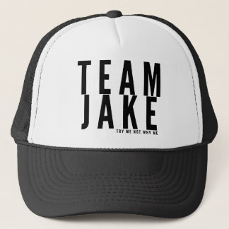 TEAM JAKE TRUCKER HAT