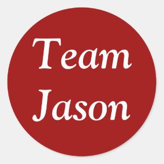 Team Jason sticker