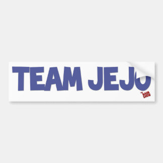 Team JeJo Bumper Sticker