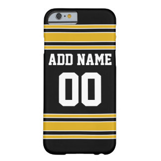Team Jersey with Custom Name and Number Barely There iPhone 6 Case