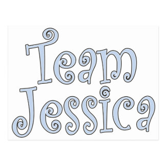 Team Jessica Postcard