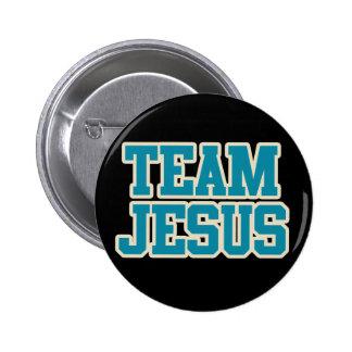 Team Jesus 2 Inch Round Button