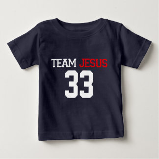 Team JESUS 33 NAVY BLUE Tee