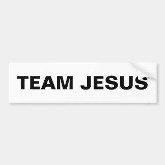"""""""Team Jesus"""" Bumper Sticker"""