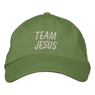 Team Jesus Hat Embroidered Hat