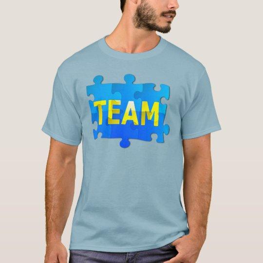 Team Jigsaw Puzzle Men's T-Shirt
