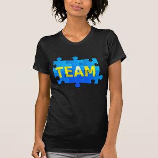 Team Jigsaw Puzzle Women's T-Shirt
