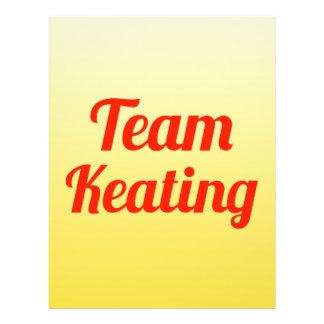 Team Keating Full Color Flyer