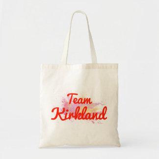 Team Kirkland Canvas Bags